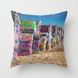 Amarillo Art Throw Pillow