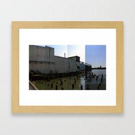West Elevation Framed Art Print