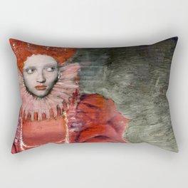 Queen Elisabeth/Newspaper Serie Rectangular Pillow