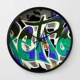 SDRV | Graffiti Wall Clock