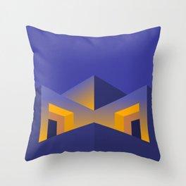 Building H Throw Pillow