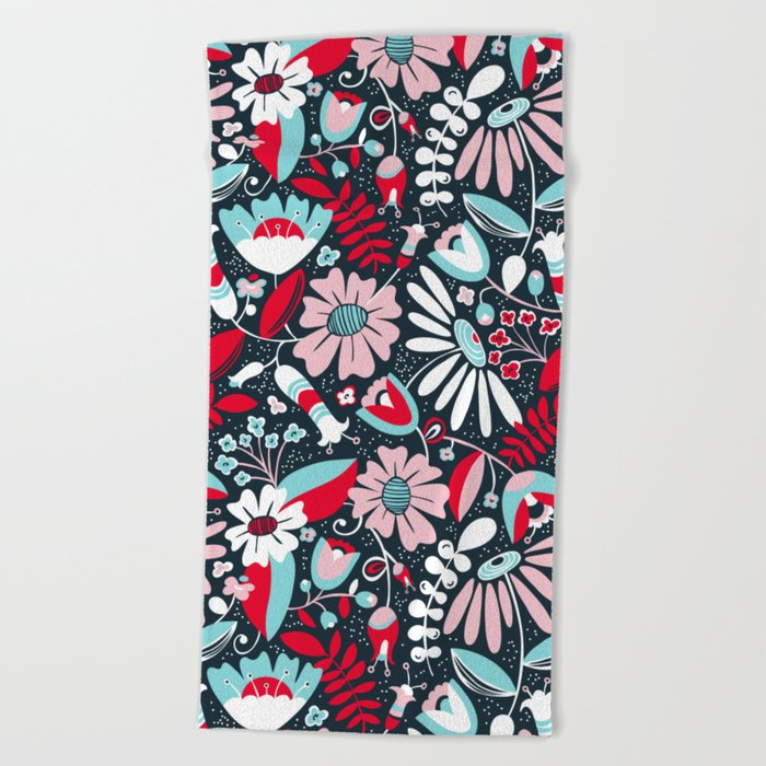 Annabelle Flirt Beach Towel