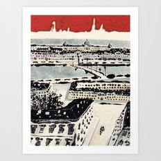 White Nights #2 Art Print