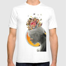 Inside of Me SMALL Mens Fitted Tee White