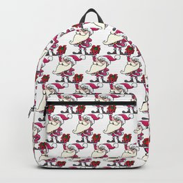 Santa Claus and High Gift Backpack