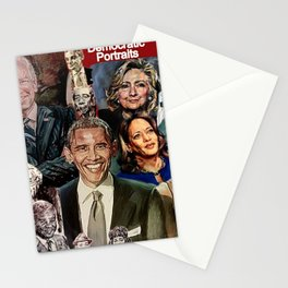 Obama Biden Bernie Kamala Hillary Nancy Michelle Stationery Cards