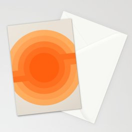 Sunspot -  Creamsicle Stationery Cards