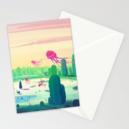 PHAZED PixelArt 5 Stationery Cards