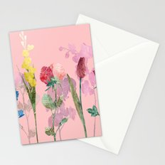 Flowers Four Pink Stationery Cards