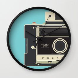 Vintage Polaroid 250 Wall Clock