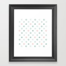 Insects Flight Framed Art Print