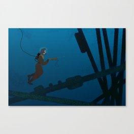 The Submariner Canvas Print