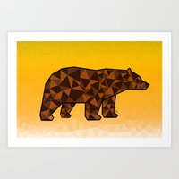 Baloo Honey Bear  Art Print
