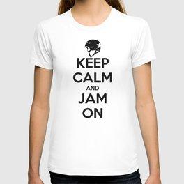 Keep Calm and Jam On T-shirt