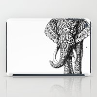navajo iPad Cases featuring Navajo Elephant by BIOWORKZ