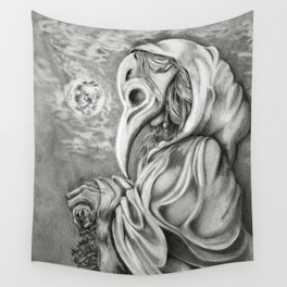 Plague Doctor Wall Tapestry