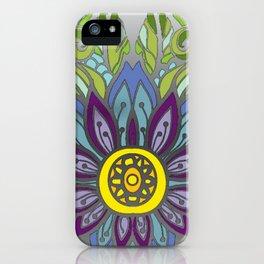 Peaceful Flower iPhone Case