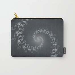 Follow the White Light - Fractal Art Carry-All Pouch