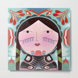 Inuit Metal Print