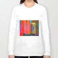 coke Long Sleeve T-shirts featuring Groovy Coke by BOG Design