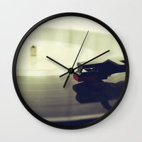 record Wall Clocks featuring Record player by josemanuelerre