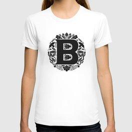 Letter B monogram wildwood T-shirt