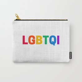 LGBTQI Carry-All Pouch