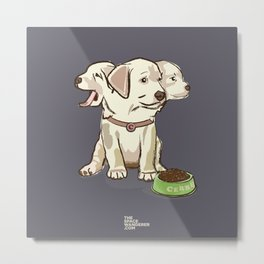 Cerberus Puppy Metal Print