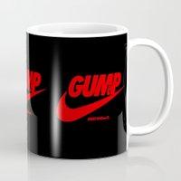 forrest gump Mugs featuring Gump- JustDoIt III by IIIIHiveIIII