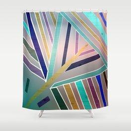 Haphazard Balance Shower Curtain