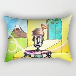 First Contact Rectangular Pillow