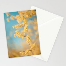I Dream In Yellow Stationery Cards