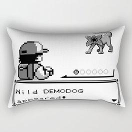 Pokémon / Stranger Thing demodog appeared Rectangular Pillow