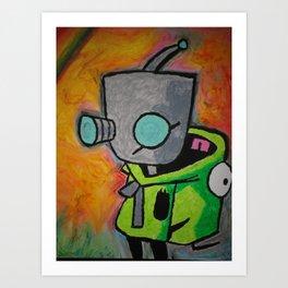 Explosive Gir Art Print