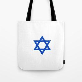 Star of David 4- Jerusalem -יְרוּשָׁלַיִם,israel,hebrew,judaism,jew,david,magen david Tote Bag