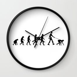 Evolution and robot Wall Clock