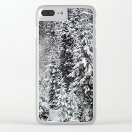 Travel to the ski resort of Zakopane in Poland Clear iPhone Case