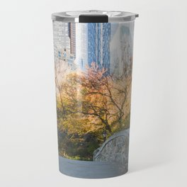 Central Park as the City Wakes Up Travel Mug