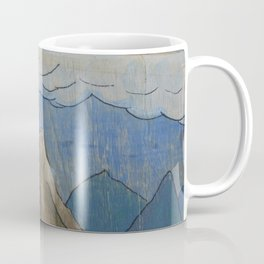 Volcano at night Coffee Mug