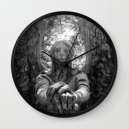 The Grave of Black & White Wall Clock