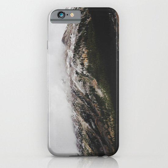 Snowcapped Mountains iPhone & iPod Case