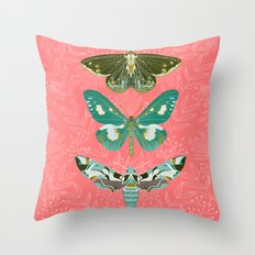 Lepidoptery No. 5 by Andrea Lauren  Throw Pillow
