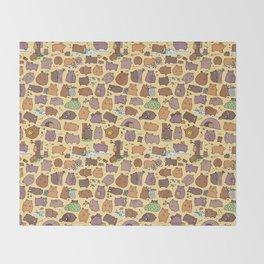 Beary Cute Bears Throw Blanket