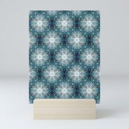 Eight Pointed Star Pattern Mini Art Print