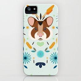 Hamsti iPhone Case