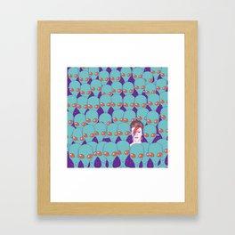 The Aliens Framed Art Print