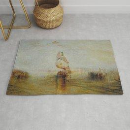 Joseph Mallord William Turner - The Sun of Venice Going to Sea Rug
