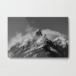 The Peak of the Mountain Metal Print