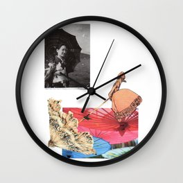 Care your skin Wall Clock
