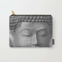 Buddha Face Statue Carry-All Pouch